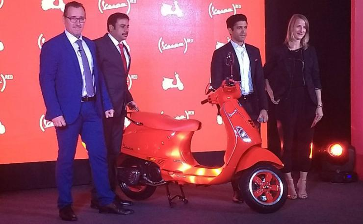 Piaggio RED scooter