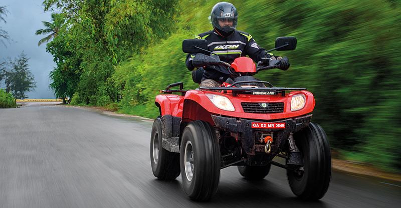 This is India's ONLY road legal ATV!