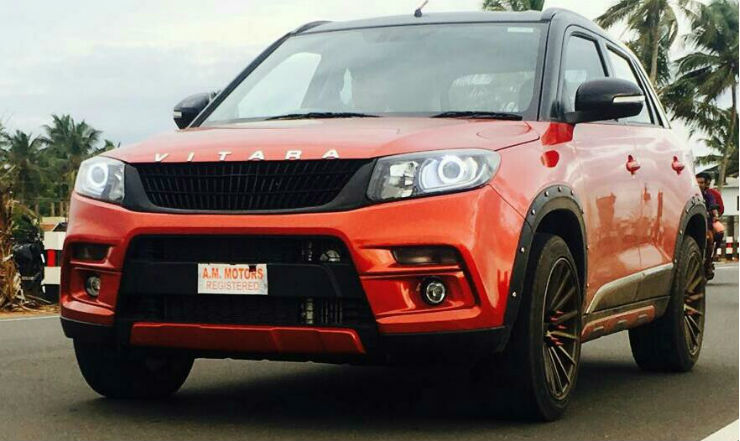 10 Hot, Modified Maruti Vitara Brezza Suvs From India-7778