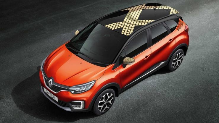 Renault Captur Diamond Deck