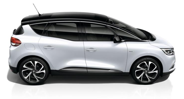 Renault Scenic MPV used as an illustration