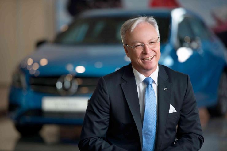 Roland Folger CEO of Mercedes Benz India