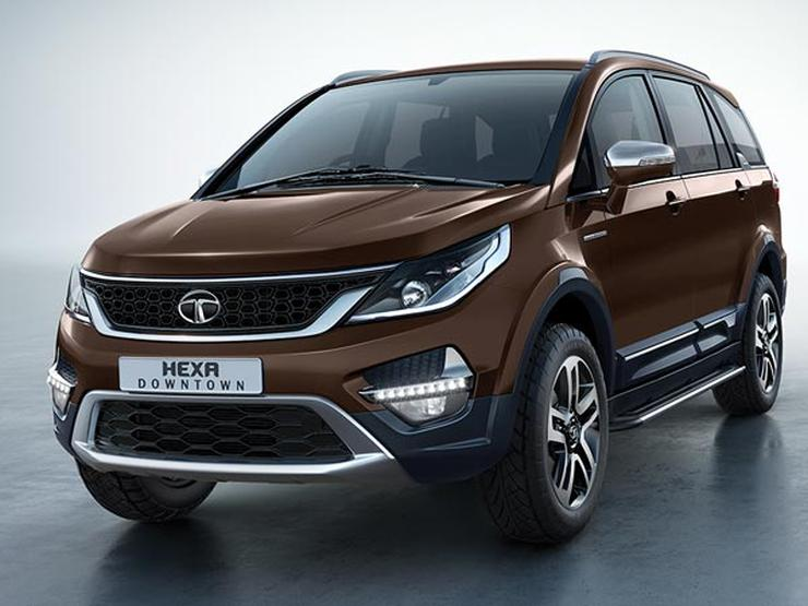 Tata Hexa Downtown Urban Special Edition