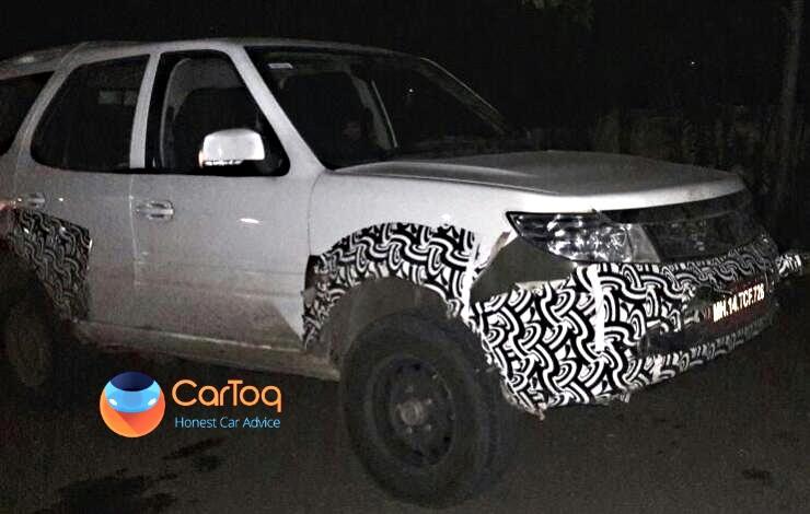 Tata Safari Storme Army Spec Spyshot 1