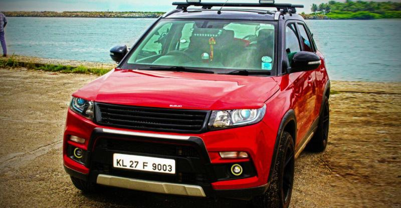 5 Gorgeous Modified Maruti Vitara Brezza Compact Suvs