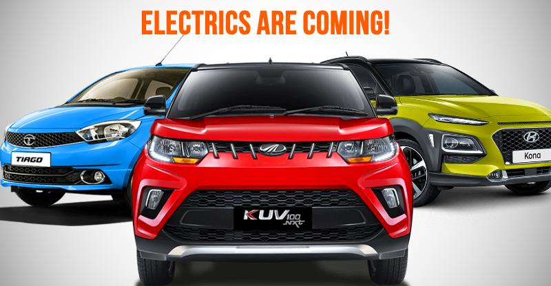 10 new Electric cars & SUVs for India: From Kwid to Scorpio EVs