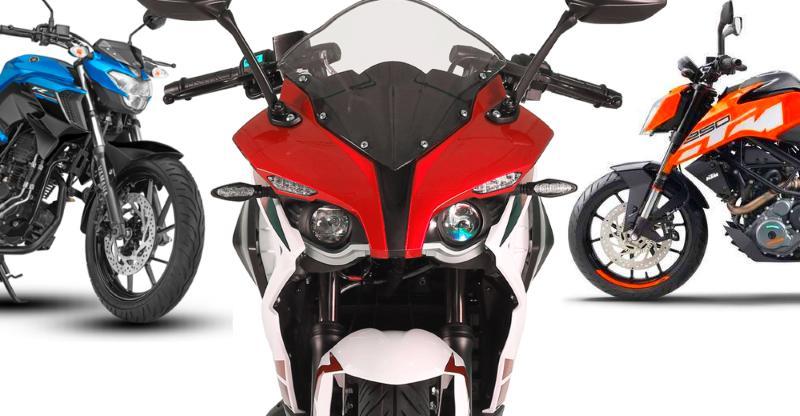 10 sporty, high-performance motorcycles for under 2 lakhs; From Bajaj, KTM, TVS, Mahindra & Yamaha