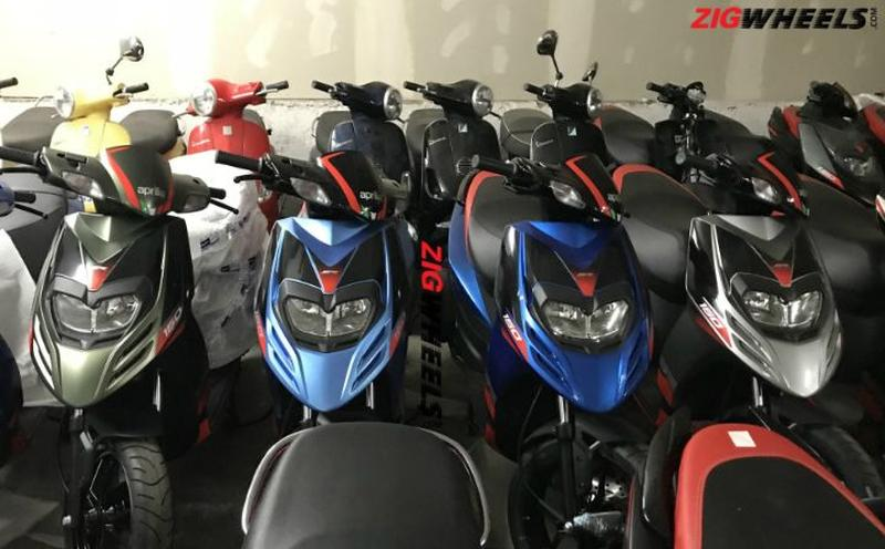 Aprilia SR150 automatic scooter to soon be available in 4 new colours
