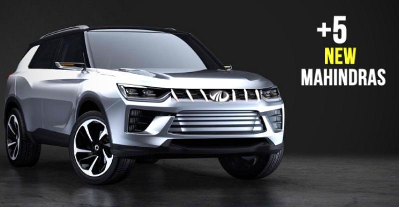 6 HOT new Mahindra cars & SUVs coming to the 2018 Indian Auto Expo