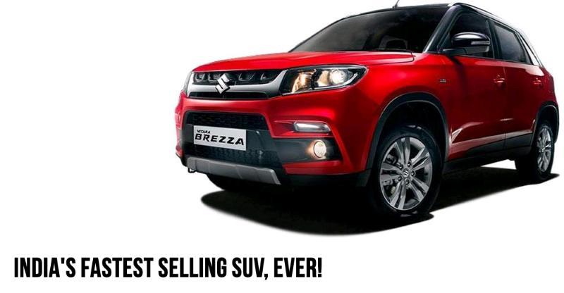 Maruti sells 2 lakh Vitara Brezza compact SUVs in just 20 months