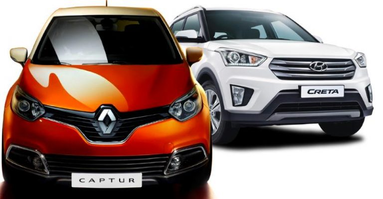 Renault Captur vs Hyundai Creta: Which SUV offers what
