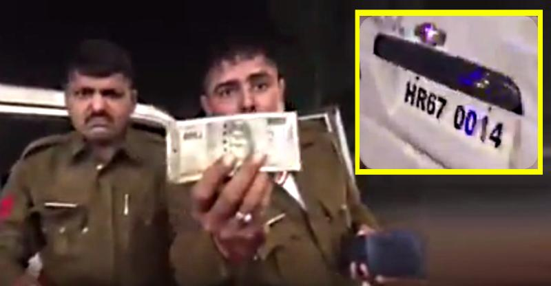 [Video] Retired army officer takes on drunk cops in Haryana, India