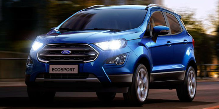 Ford Ecosport, Aspire, Figo & Endeavour prices to rise from January 2018