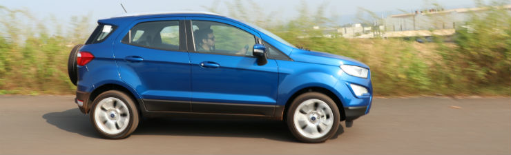 2018 Ford EcoSport Facelift Compact SUV in CarToq's first