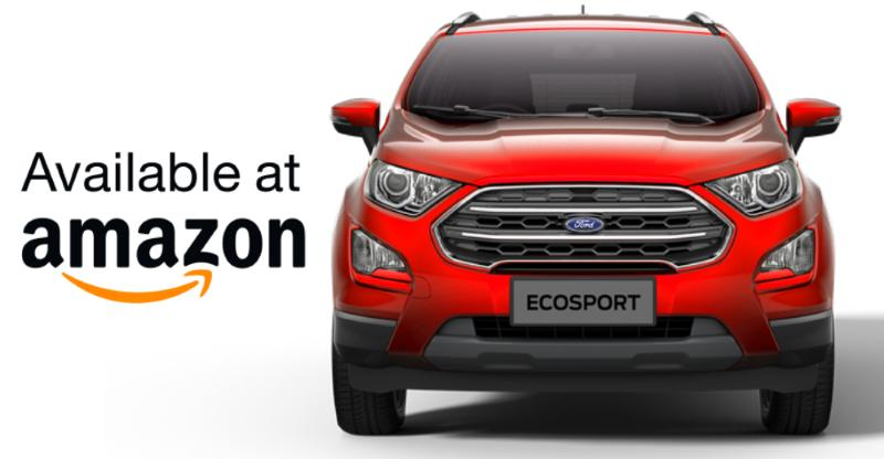 Ford EcoSport Facelift bookings to open on 5th November on Amazon