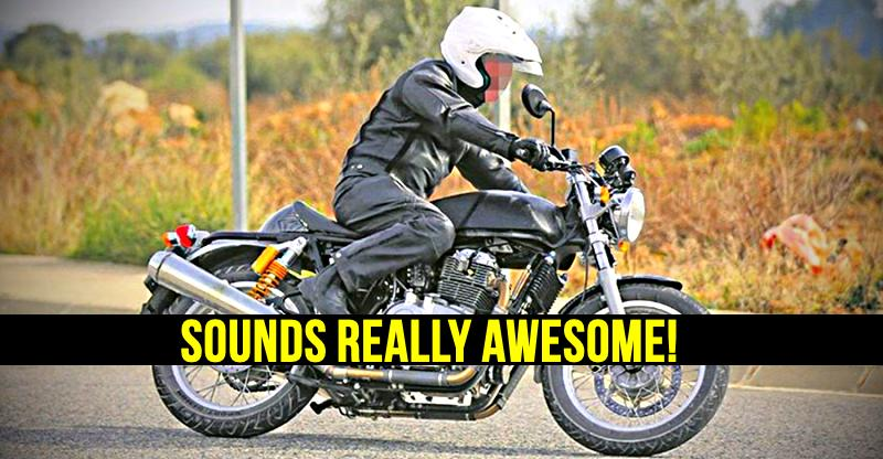 Royal Enfield 750cc bike's video teaser out; Sounds awesome
