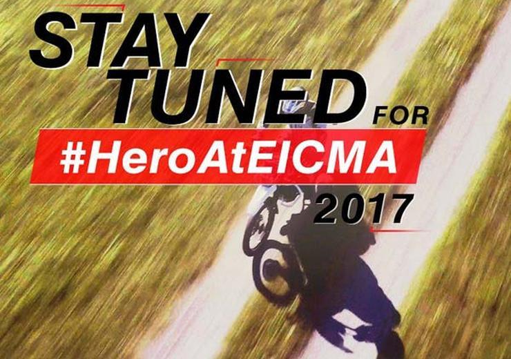 Hero MotoCorp teases off road bike; 200cc Impulse?