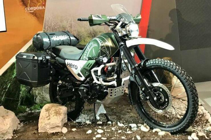 Hero Motocorp XPulse 200 adventure motorcycle's India ...