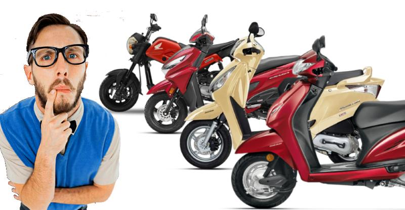 5 types of Honda Activa-based automatic scooters for 5 kinds of people