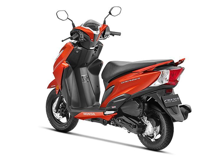 Honda Grazia Automatic Scooter 2