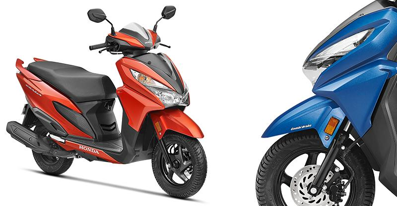 Activa-based Honda Grazia automatic scooter already in top-10 sellers