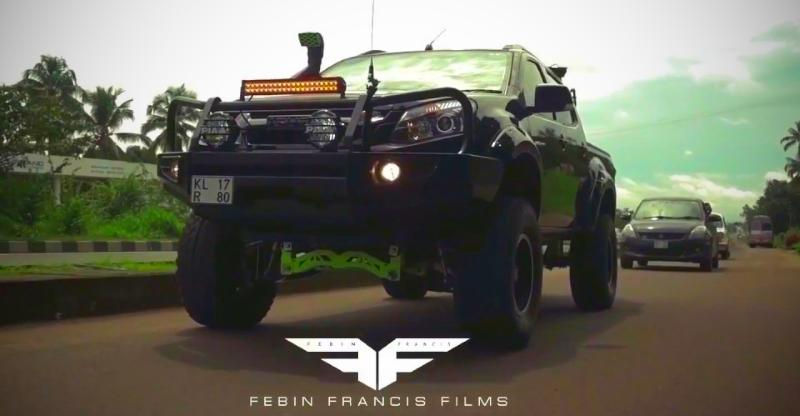 India S Meanest Modified Isuzu V Cross Is Here And It S A