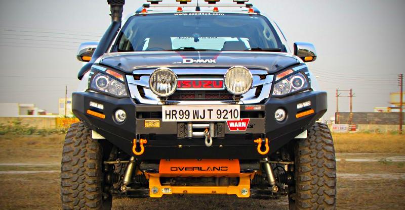 5 mean & menacing MODIFIED Isuzu V-Cross pick-up trucks of India