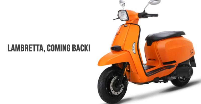 Iconic scooter brand Lambretta (Vespa challenger) coming back to India