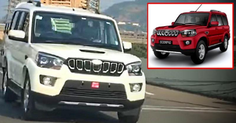 Mahindra Scorpio SUV Facelift fully revealed on video