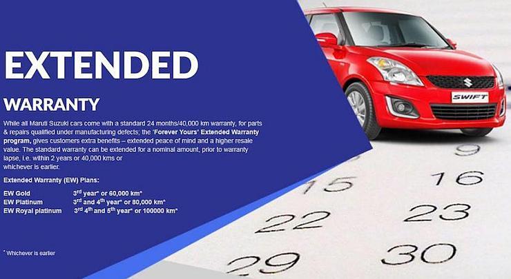 Maruti launches extended warranty program on Alto, Swift, Dzire, Brezza, Baleno, Ciaz and more