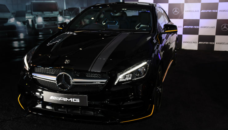 Mercedes Benz CLA45