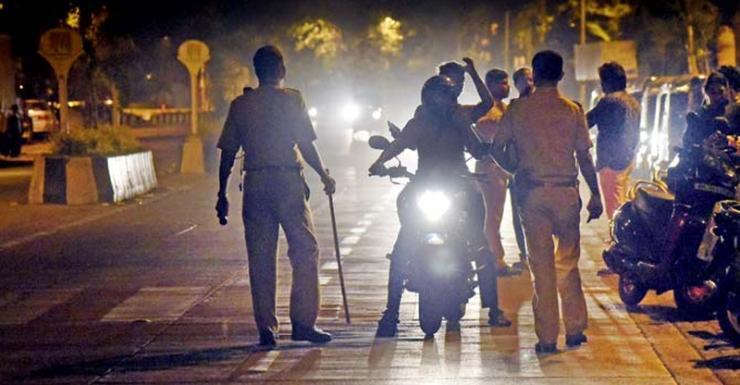 Mumbai Police nab bikers