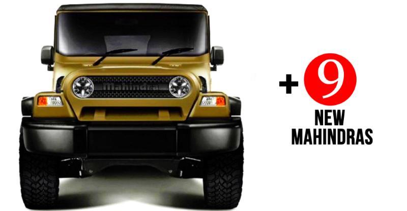 10 new Mahindra cars & SUVs coming to India