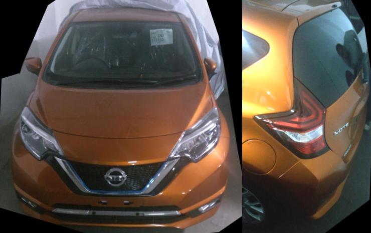 Nissan Note e-Power Spyshot