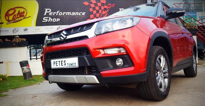 This is India's most POWERFUL Maruti Vitara Brezza compact SUV