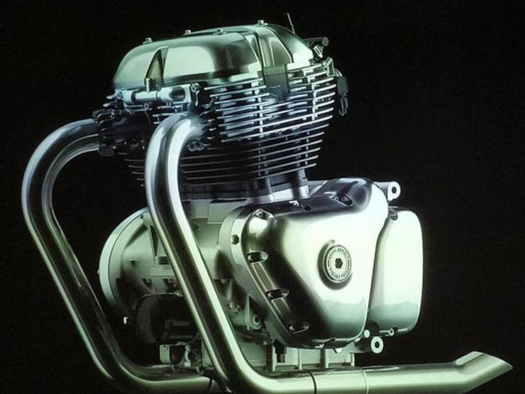 Royal Enfield 650cc Parallel Twin Engine