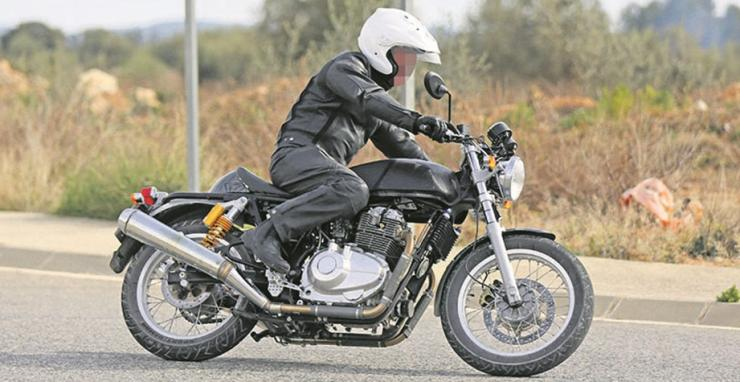 Royal Enfield Continental GT650 Spyshot