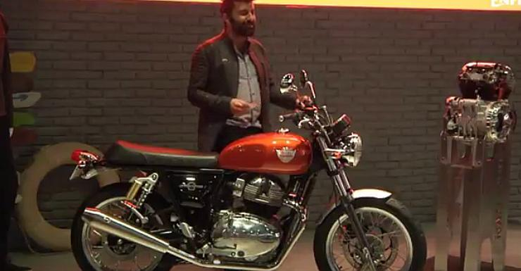 Shortened Cars >> Royal Enfield Interceptor 650 & Continental GT 650 unveiled; India-launch in 2018