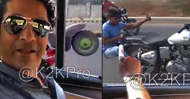 All in good fun – Sachin Tendulkar telling all kinds of crazy people to wear helmets [Video]