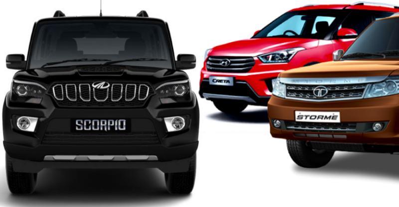 Mahindra Scorpio vs Hyundai Creta vs Tata Safari Storme: Who should buy what