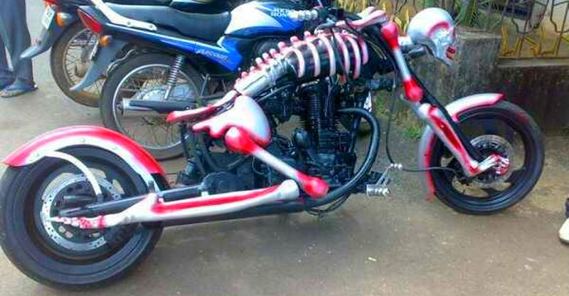 Bike mods gone CRAZY; From Harleys to Enfields