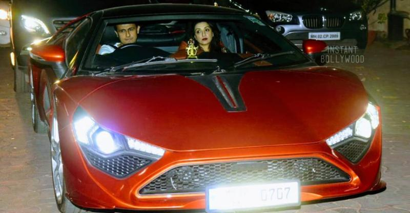 Sonu Nigam in a DC Avanti Featured