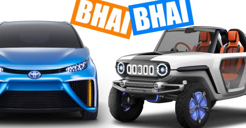Maruti Suzuki-Toyota to produce electric cars for India