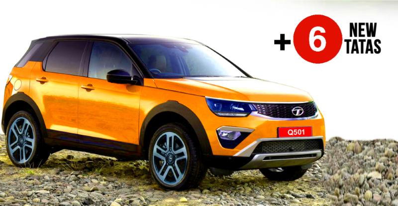 7 new Tata cars & SUVs coming to the 2018 Indian Auto Expo