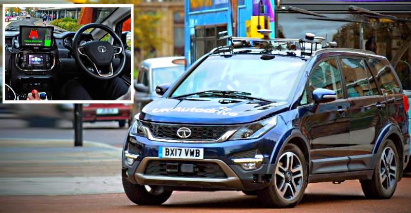 Hexa autonomous car is proof that Tata Motors is big time into driverless cars