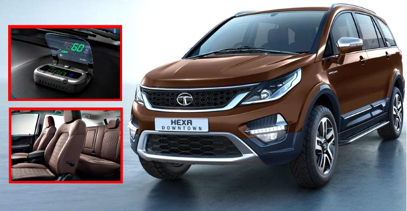 Tata Hexa Downtown Special Edition SUV launched in India