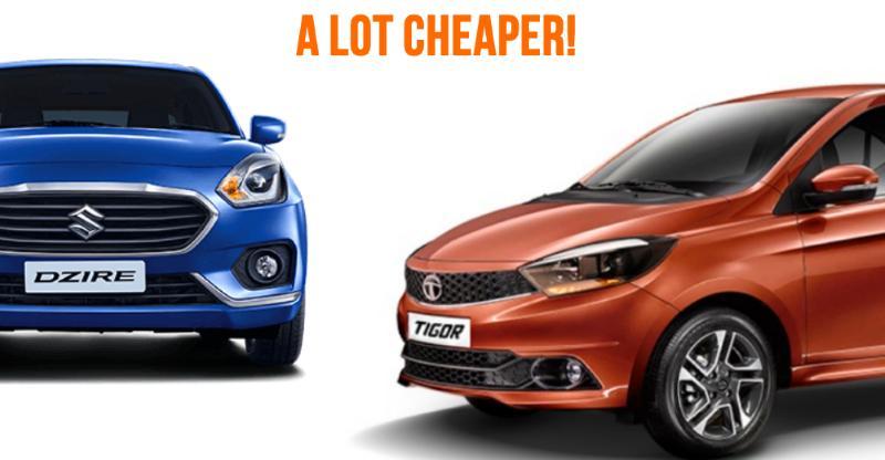 Tata Tigor AMT prices revealed; Much cheaper than Maruti Dzire Automatic
