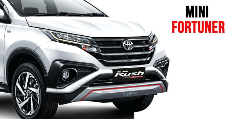 The all-new, 3rd gen Toyota Rush compact SUV is a mini-Fortuner