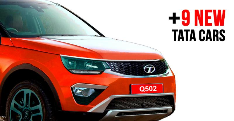 10 NEW Tata cars & SUVs for India