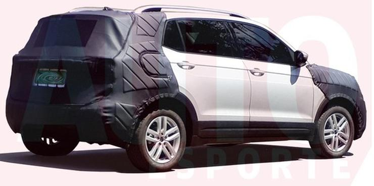 Volkswagen T-Cross Spyshot